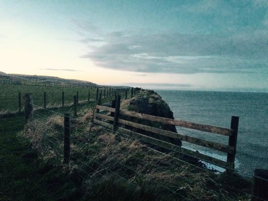 Marshall Meadows Country House Hotel: Cliff top path to the Scottish border.