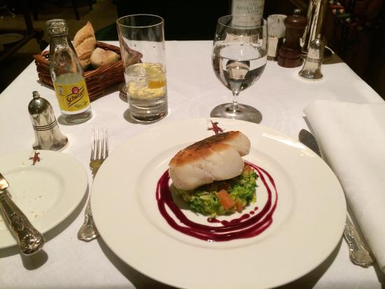 Wiltons: Cod with cabbage