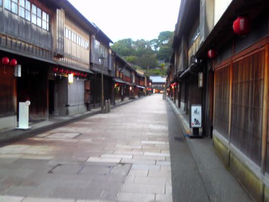 Higashichaya Old Town : 平日の比較的人が少ない時間帯