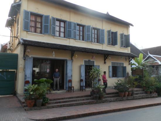 Villa Saykham: Façade hotel