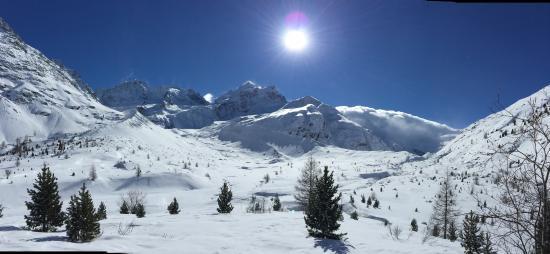 Sporthotel Pontresina: Val Rosegg nach 10km Klassik Langlauf
