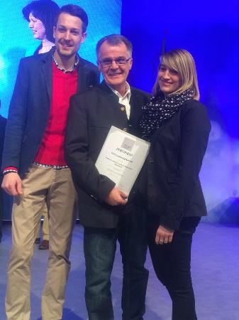 Restaurant St. Erhard im Kolpinghaus: Preisverleihung TopAusbildungsbetriebe 2015 in Nürnberg