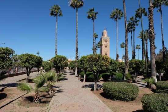 Koutoubia moské og minaret