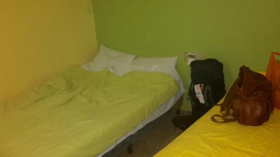 Green World Hotel: Betten