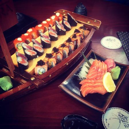 Sakura Japanese Restaurant: Belly massage! 😌
