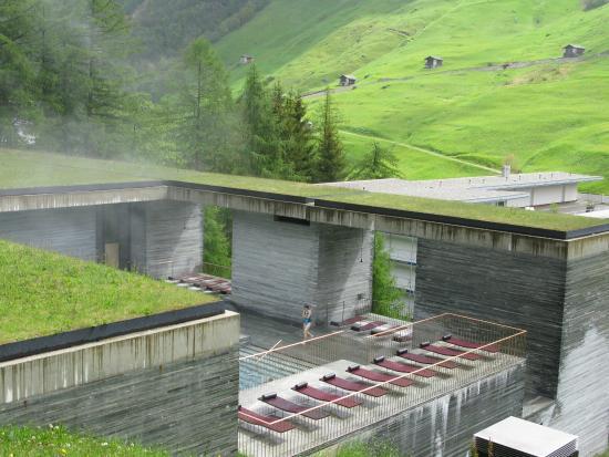 Gang richtung umkleidekabine bild von 7132 therme vals for Therme vals vals svizzera