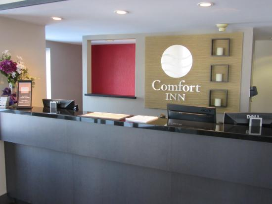 Comfort Inn Cobourg : Welcome