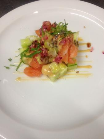 Taste Meson Gran Canaria: Salmon Tartar Asian Style