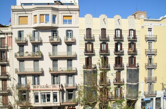 H Cristina Hotel: Vista da sacada