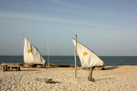 Mbalamwezi Beach Club: The beach!