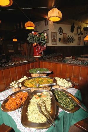 buffet - Foto di Cantina Tirolese, Roma - TripAdvisor