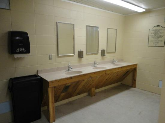 Campground Bathrooms Picture Of Hidden Valley Outfitters RV Park - Bathroom outfitters