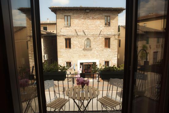 Camere La Basilica : Vista Camera Arancio