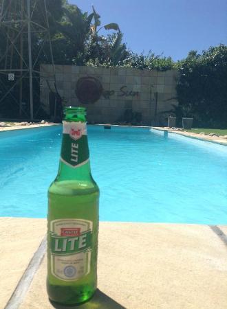Karoo Sun Guesthouse : Chillen am Pool...