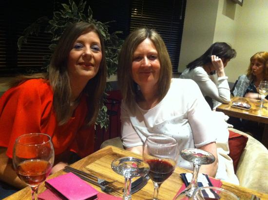 The Grapevine Restaurant and Wine Bar: Birthday night out