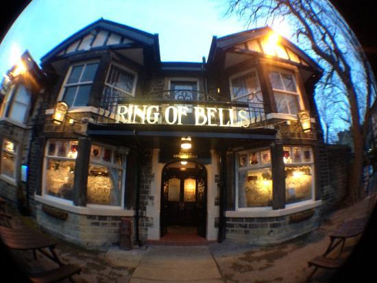The Ring O Bells: Exterior at dusk