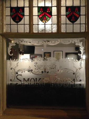 The Ring O Bells: Gorgeous traditional stained glass and etched windows