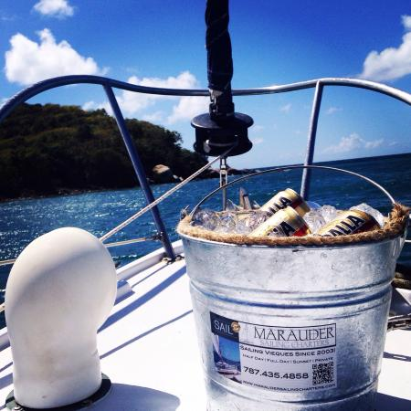 Marauder Sailing Charters - Private Tours: Beer Bucket aboard Marauder