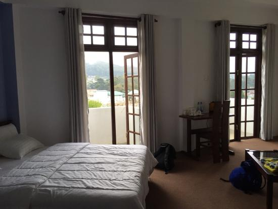 Beds and view