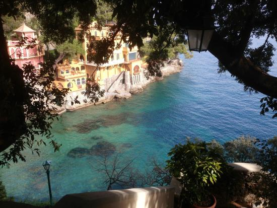 Eight Hotel Paraggi : Vista dalla passeggiata Portofino - Paraggi