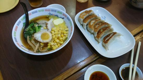 Shinjuku Ramen Restaurant: The gyoza stole the show!