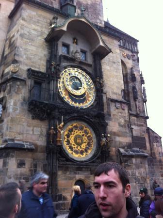 Prague, République tchèque : Astronomical clock
