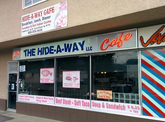 The Hideaway Cafe: Hide-A-Way Cafe