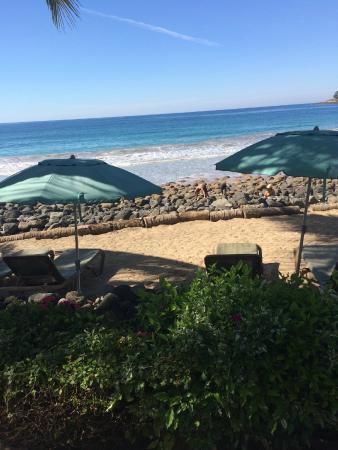 Mar de Jade Retreats Wellness Vacation: Beach view