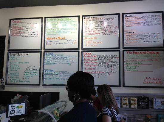 The Deli: Menu Boards