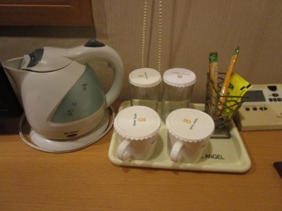 Hotel Angel: コーヒー お茶 ポット