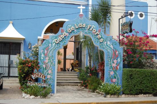 Hotel Casa de las Flores Playa del Carmen: Entrée