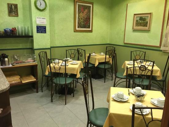 Hotel Augustea: Sala colazione