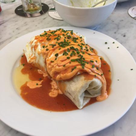 Morgan's: Burrito