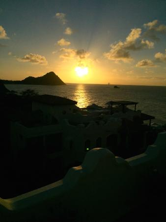 Cap Estate, St. Lucia: View from our Rooftop Terrace.  Priceless!