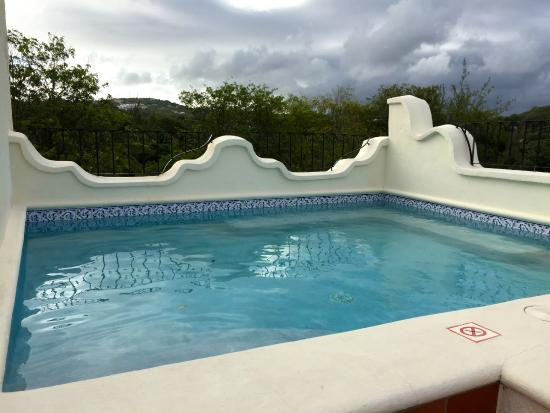 Cap Estate, St. Lucia: Private Pool on our Rooftop Terrace