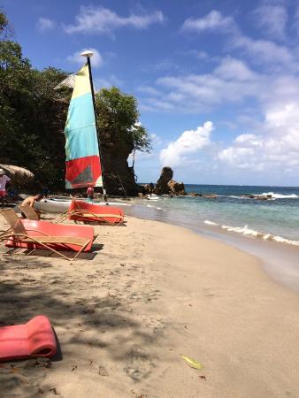 Cap Estate, Sta. Lucía: Beautiful Secluded Beach!