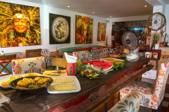 Cuisine Maia inside the restaurant - picture of maia restaurant, puerto vallarta