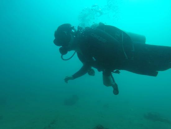 Titan Dive Center: open water