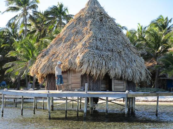 Glover's Reef Marine Reserve: Cabana