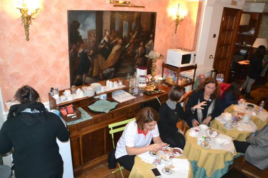 Hotel Reggia San Paolo: Parte zona colazione