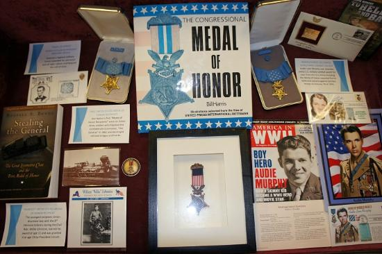 Lincoln Train Museum : Abraham Lincoln and our nation's Medal of Honor.