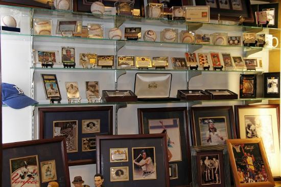 Lincoln Train Museum: Explore sports memorabilia!