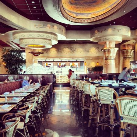 The Cheesecake Factory: A beautiful restaurant.