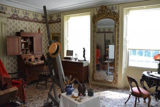 Florence Griswold Museum : Artists' bedroom
