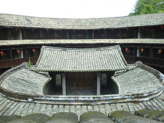 Yongding County, จีน: Внутри