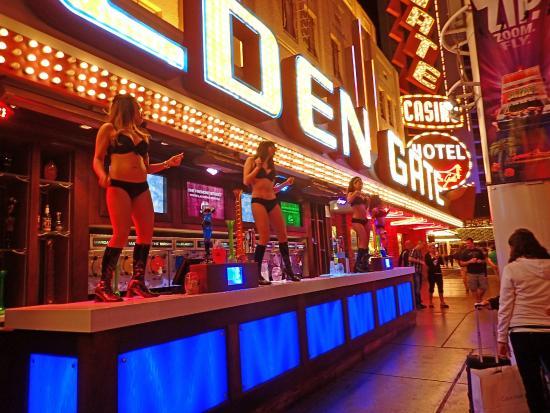Fremont Street Experience Dancing Bartenders