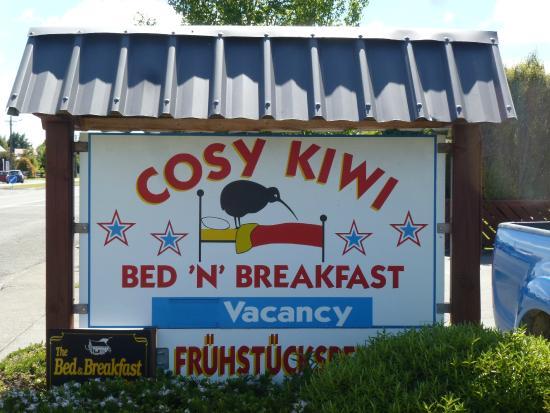 Cosy Kiwi B&B: Cosy Kiwi