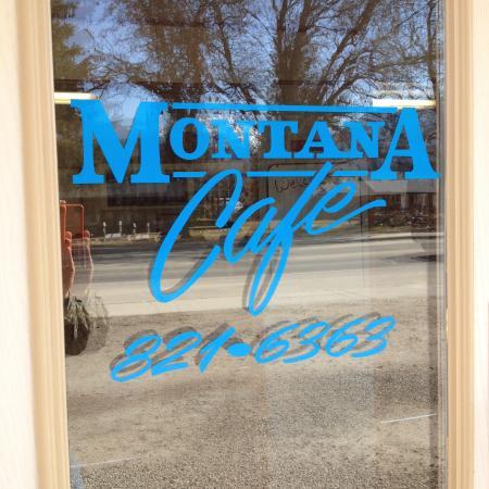 Montana Cafe: Cafe Phone Number