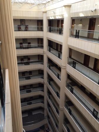 فندق بلفيديري كورت: Hall intérieur de l'hôtel