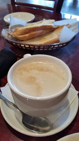 West Caribbean Cuban Restaurant: Delicious cafe con leche